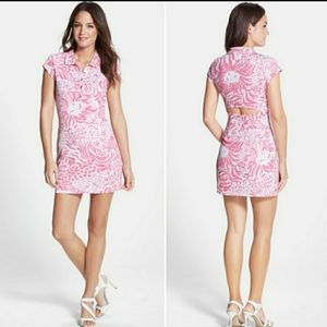 Lilly Pulitzer Rayna Print Polo Dress, Med